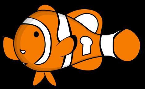 OMEMO Clownfish logo.